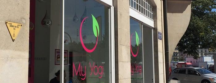 my yogi frozen yogurt is one of Cool spots in Geneva.