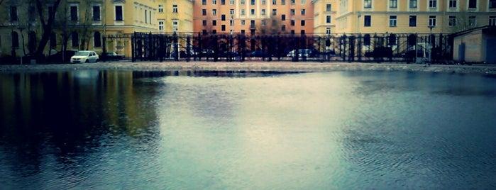 Круглый пруд is one of СПб. Необычные места.