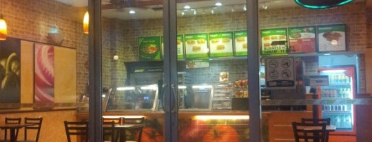 SUBWAY is one of Fast Food, Burger and Hotdog Joint..