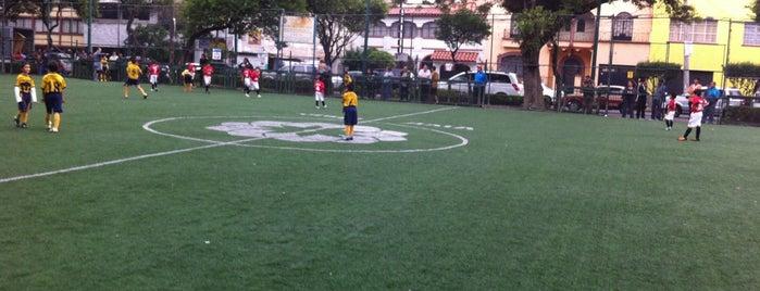 Canchas de Futbol (pasto) Parque Álamos is one of Lieux sauvegardés par Phanie.