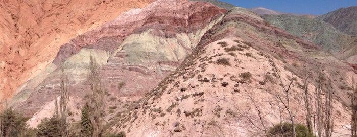 Cerro de los Siete Colores is one of Аргентина.