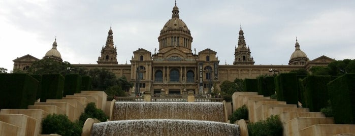 Muntanya de Montjuïc is one of Barcelona, Espanha.