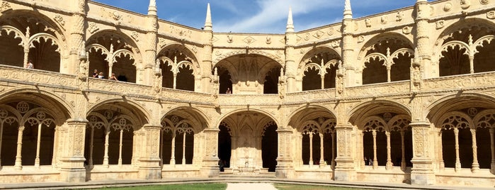 Mosteiro dos Jerónimos is one of Go Ahead, Be A Tourist.