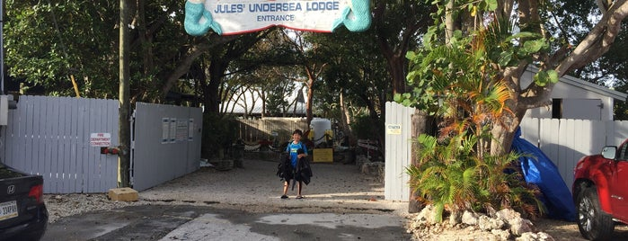 Jules Undersea Lodge is one of Miami.
