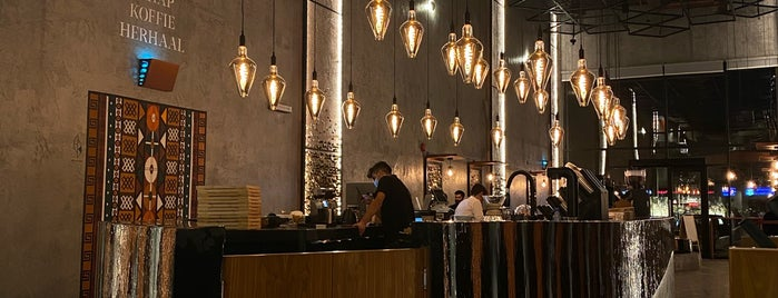 BONGA CAFE is one of Coffee shops   Riyadh ☕️🖤.