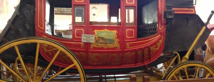 Wells Fargo History Museum is one of San Diego: It's nice to look at.
