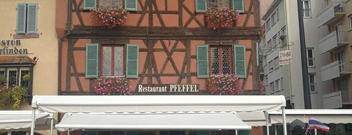 Restaurant-Wistub Pfeffel is one of Orte, die Nazım gefallen.