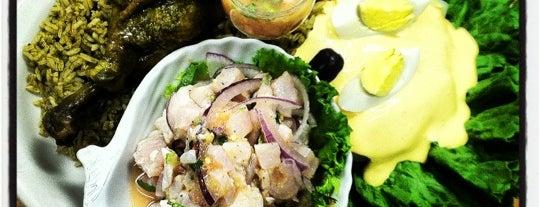 Costa Marina Peruvian Restaurant is one of Crystal : понравившиеся места.