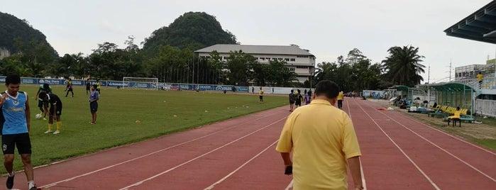 สนามกีฬากลางจังหวัดกระบี่ is one of D2 Group B Champion League 2011.