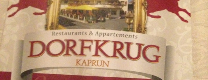 Dorfkrug Kaprun is one of Orte, die Pierre gefallen.