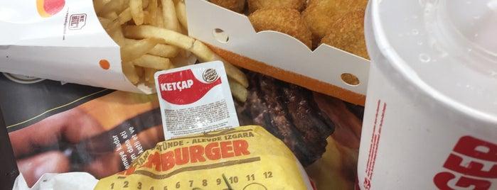 Burger King is one of yedim içtim gezdim.