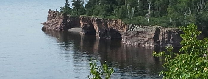Tettegouche State Park is one of Up North.