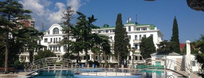 Radisson Resort & SPA, Alushta is one of Tempat yang Disimpan Jul.