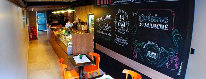 Lá em Casa Cuisine d'Amis is one of Lugares guardados de Thiago.
