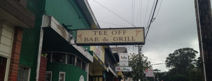 Tee Off Bar is one of My new restaurant discoveries.
