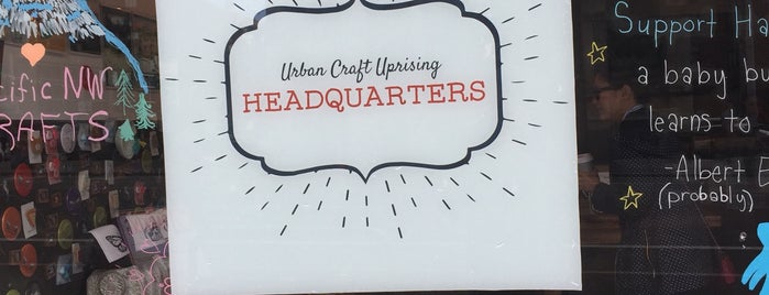 Urban Craft Headquarters is one of Lugares guardados de Kelsey.
