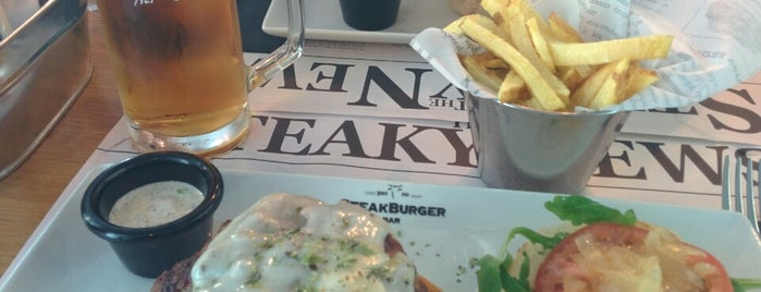 Steak Burger Bar is one of Sinem 님이 좋아한 장소.