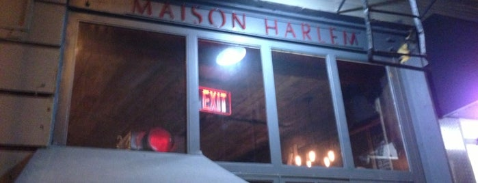 Maison Harlem is one of NYC Burgers.