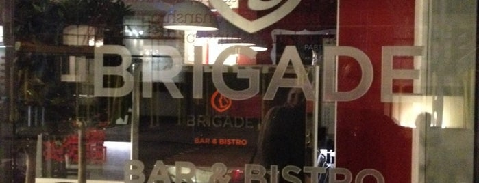 Brigade Bar & Kitchen is one of Tempat yang Disukai Henry.