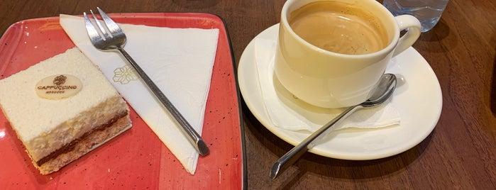 Café Cappuccino is one of Queen'in Kaydettiği Mekanlar.