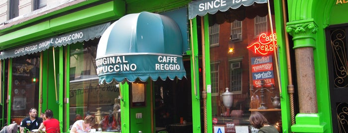 Caffe Reggio is one of Greenwich Village Coffee.