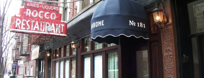 Carbone is one of Cover Restaurants.