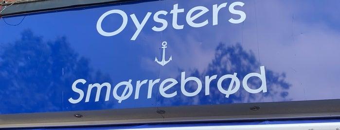 Oysters & Smørrebrød is one of Gespeicherte Orte von David.