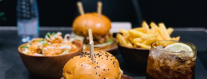 Wagyu Burger - The Elite is one of Orte, die Naif AlAamer gefallen.