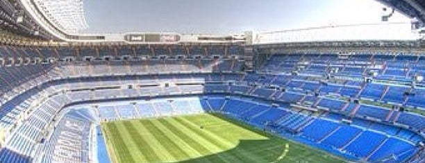 Estadio Santiago Bernabéu is one of SPAIN LA LIGA STADIUMS SEASON 2016-17.