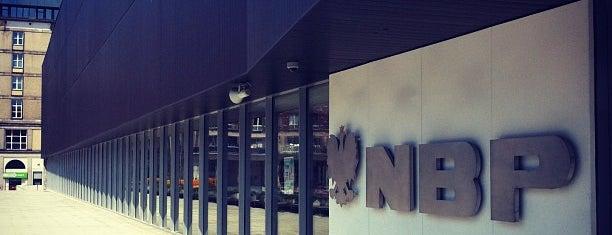 Narodowy Bank Polski is one of Lieux qui ont plu à Krzysztof.