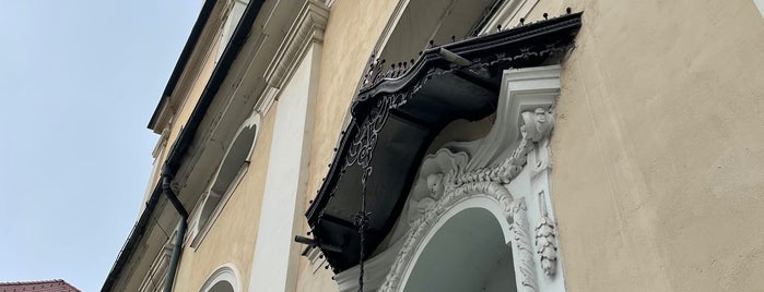 Stolnica Sv. Nikolaja / The Cathedral is one of Ljubljana.