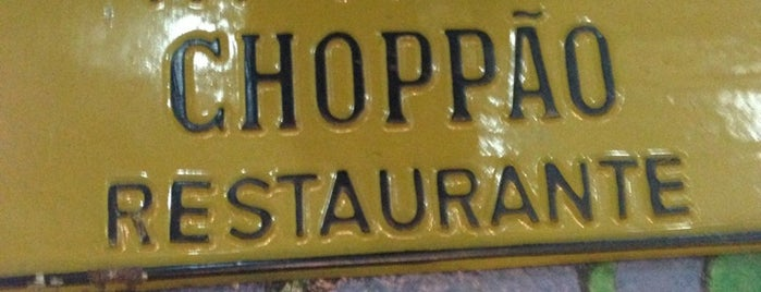 Choppão Restaurante is one of Tempat yang Disimpan Bruna.