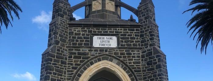 Cenotaph War Memorial is one of Nuova Zelanda.
