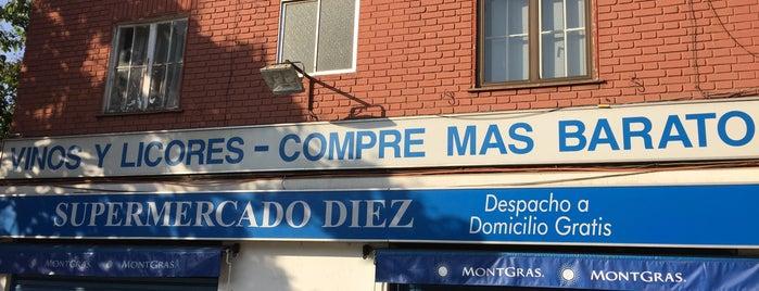 Supermercado Diez is one of สถานที่ที่ Paulo ถูกใจ.