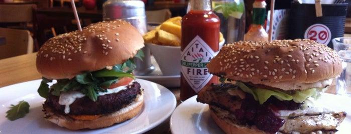 Gourmet Burger Kitchen is one of Burgers Around the World.