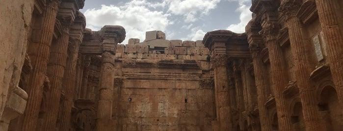 Baalbeck Ruins is one of Merve'nin Beğendiği Mekanlar.