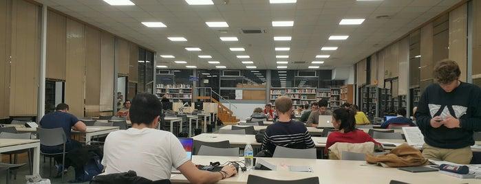 Biblioteca General Universidad de Sevilla is one of Svil.