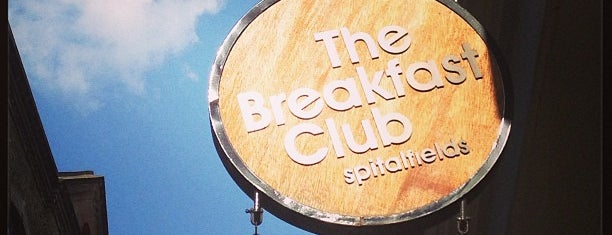 The Breakfast Club is one of let's do lunch.