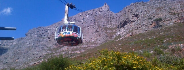 Table Mountain Aerial Cableway is one of lua de mel.