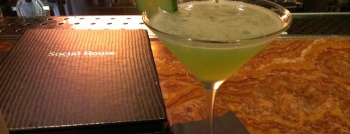 Social House is one of 10 restaurants in Vegas with cool bar scenes.