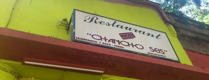 Bar Chancho Seis is one of Oferta gastronómica Quinta Normal & Barrio Yungay.