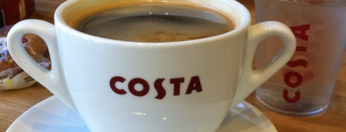 Costa Coffee is one of Desayunos y meriendas en Madrid.