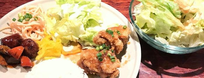 ごはんcafe バンブリット is one of Locais curtidos por soranyan.