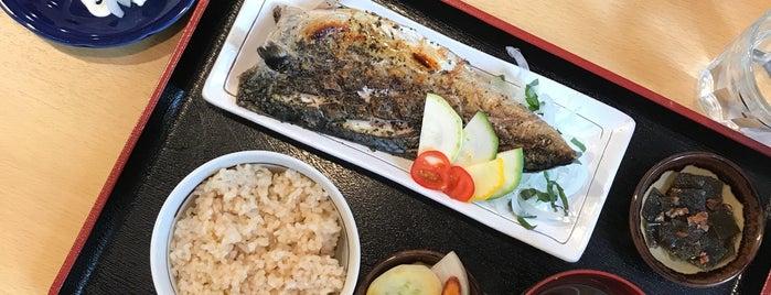 玄米ご飯とお酒 ごしま is one of Posti che sono piaciuti a soranyan.