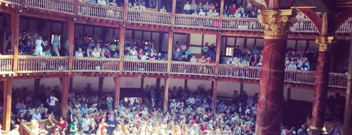 Shakespeare's Globe Theatre is one of Pleasure Spots in the UK.