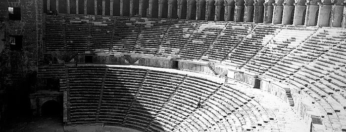 Aspendos Ancient Theatre is one of Ahmedさんの保存済みスポット.