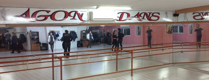 Agon Dans is one of Tempat yang Disukai Bülent.