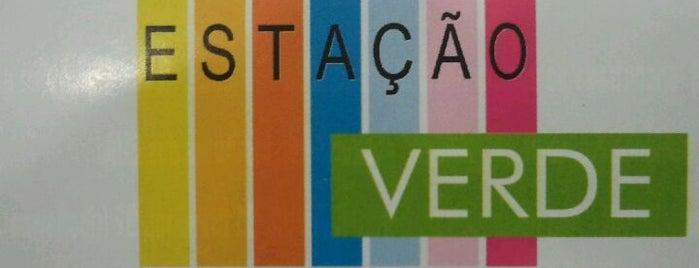 Estação Verde is one of Adnã'ın Beğendiği Mekanlar.
