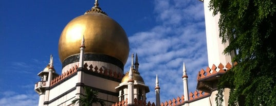 Masjid Sultan (Mosque) is one of Singa.