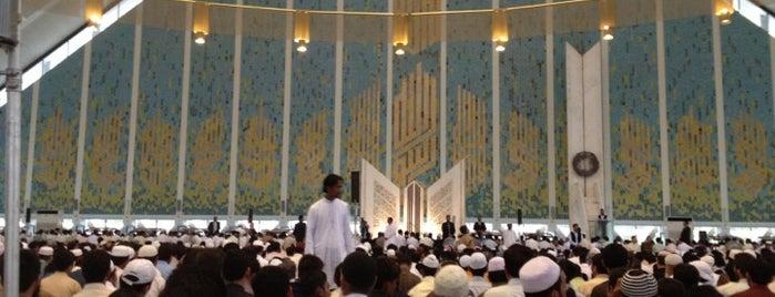 Faisal Masjid is one of Orte, die Asim gefallen.